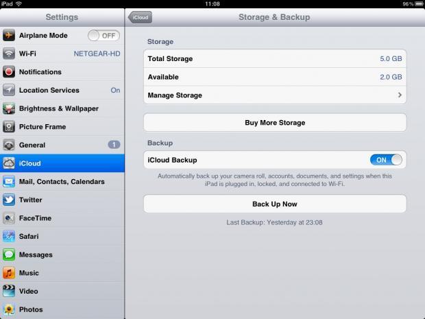 Как перенести из icloud на iphone 5s
