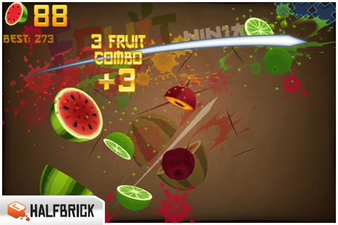 Free download fruit ninja for iphone ipad and ipod | iosorchard.