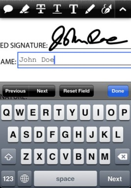 how to delete files from adobe reader on ipad