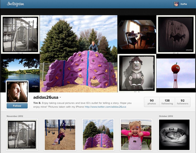 instagram webprofile explained with information iosorchard. Black Bedroom Furniture Sets. Home Design Ideas