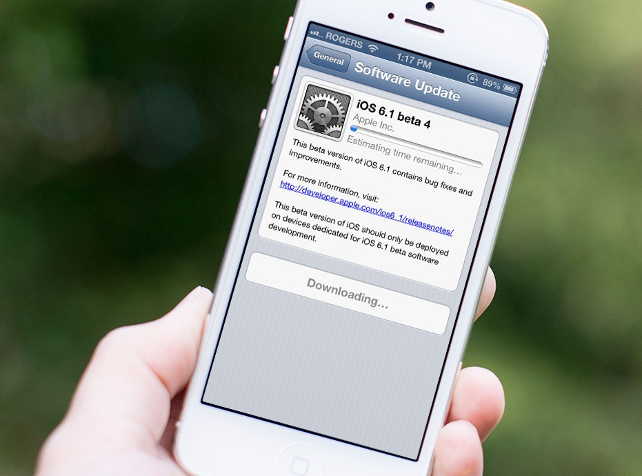 Download iOS 6 1 beta 5 for iPhone and iPad | IOSorchard