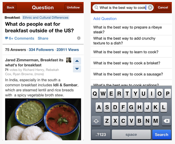 Free download quora iphone application iosorchard at present quora is available only in english language so if you dont know or understand english language dont worry as the developers are working their ccuart Gallery
